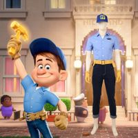 Ralph Breaks the Internet Wreck-It Ralph 2 Fix-It Felix Jr high quality cosplay costume Disney costu