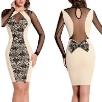 Mother bandage dress