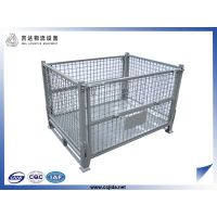 Heavy duty industrial customized stackable cage pallet