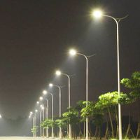 china factory street lighting pole steel pole