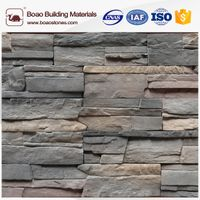 Faux stacked stone veneer and panel manufacturer
