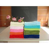 Solid color micro fleece blanket