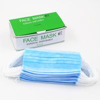 Medical Face Mask 3 Ply Nonwoven Disposable Surgical Face Mask