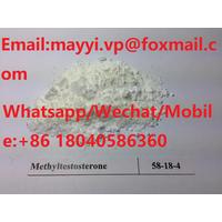 Steroids Powder CAS 58-18-4 for Bodybuilding 17- M e t h y l t e s t o s t e r one