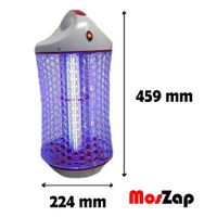 Moszap SMK01 Electric Mosquito Killer with T8 UV Lamp