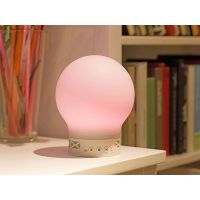 New Wireless Control Speaker Smart Music Audio Speaker LED RGB Color Bulb Light Lamps