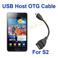USB Host OTG Cable  Micro USB to Female USB for Samsung Galaxy S2 i9100