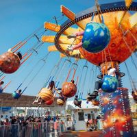 Fruit Flying Chair Ride HFSF01--Hotfun Amusement rides thumbnail image