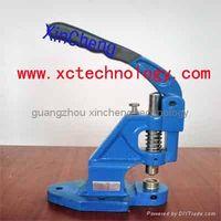 Manual Grommet Machine for outdoor printing media material