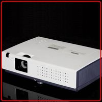 3LCD Projector With 3000 Lumens 1024*768 Pixels For Home Theater