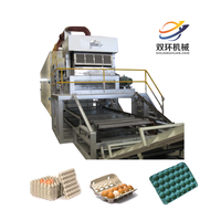 Recycling waste paper egg tray/ egg carton/ egg box making machine