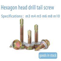 Manufacturer direct sale hexagon head drill tail screw wholesale hexagon head self drilling customiz thumbnail image