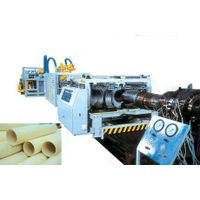 PVC (PE) double-wall corrugated pipe extrusion line thumbnail image