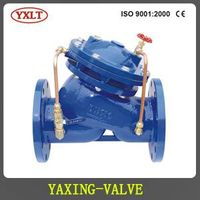 Multifunctional water pump control valve