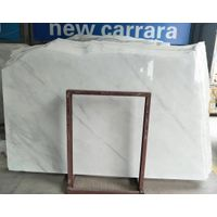 Oriental White marble slabs new carrara