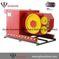 55kw 75cv diamond wire saw machine for granite quarries