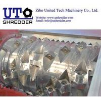 Single Shaft Shredder S48200 for tyre, plastic, wood, metal, cable, paper crusher recycling thumbnail image