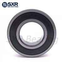 China Brand SXR Chrome Steel Gcr15 Black Edges Black Corners Deep Groove Ball Bearing 6304 2RS thumbnail image