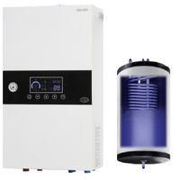 Electric boiler with built-in 50 liter tank 15 kW