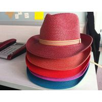 Big sale!! Discounting!! fedora pp hats with various colors for promotion
