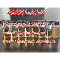 Telegram: aokshelen,CAS 49851-31-2 supplier 49851-31-2 Factory,cas 49851 31 2 China manufacturer