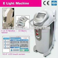 E light laser beauty salon equipments for pigmentation and wrinkles removal and skin rejuvenation