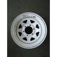 steel wheel rim/tyre/tube for trailer ATV UTV Golf cart agriculture, truck, tractor,etc thumbnail image
