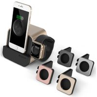 VERUS i-Depot Plus - Mobile phone & Apple Watch Stand, desk cradle, mobile phone accessories