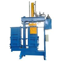 High output Double Chamber Clothing Textile Compactor