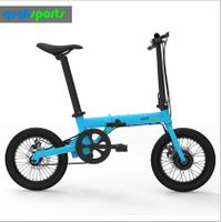 Manufacturer supply 16 inch portable & folding ebike lithium battery electric bicycle
