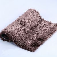 shiny chenille tufted carpets