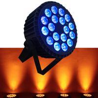 China 18PCS RGBWA+UV high power led par64,WiFi par led light,6in1 led stage light