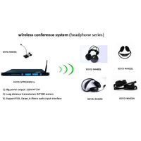 wireless microphone for meeting conference system