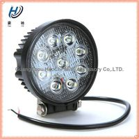 china supplier 10-30v dc offroad 9 Epistar 27w led work light