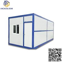 Folding Movable Container Van House Prefabricated Protected Container thumbnail image