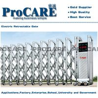 Stainless Steel Trackless Folding Gate Price