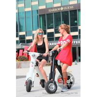 Fashion and Simple Design Electric Motorcycle 48V 350W Folding Electric Scooter with aluminium Alloy