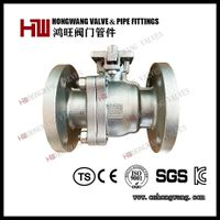 ANSI Class 150 Casting Flange Stainless Steel Ball Valve Fire Safe Wcb/CF8/CF8m