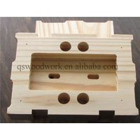 Cherry solid wood chocolate mold