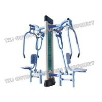 Outdoor strength training equipment