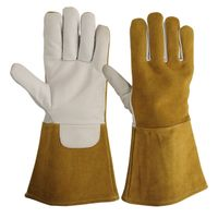 TIG/MIG Welding Gloves / Leather Fire Resistance Gloves thumbnail image