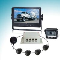 Parking sensor kit for truck