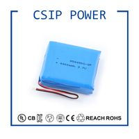 Hot selling 954450 3.7V 4400mAh Li-polymer Rechargeable Batterie Pack Support OEM Service