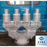 plastic die, extrusion mould, plastic mould for PVC Dual-Pipe
