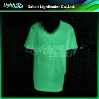 luminescent boy's t shirt glow bright color in top quality