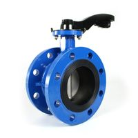 Flange Butterfly Valve with handle thumbnail image