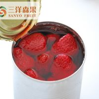Seedless Canned Strawberry in Light Syrup 14-17%