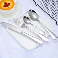 2020 Best seller Classcial design Stainless steel Knife Fork Spoon Cutlery thumbnail image