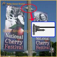 Pole Advertising Banner Fixture
