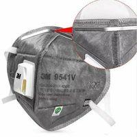 10 Pcs 3M 9541V Face Cover Respirators Mask